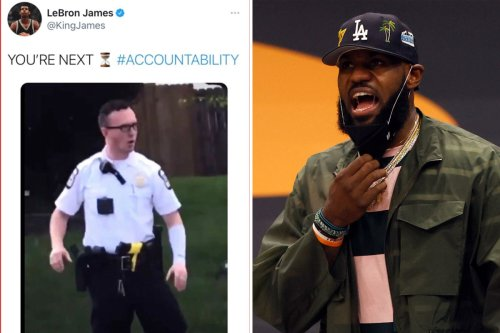 LeBron James deletes tweet on Ma'Khia Bryant police shooting
