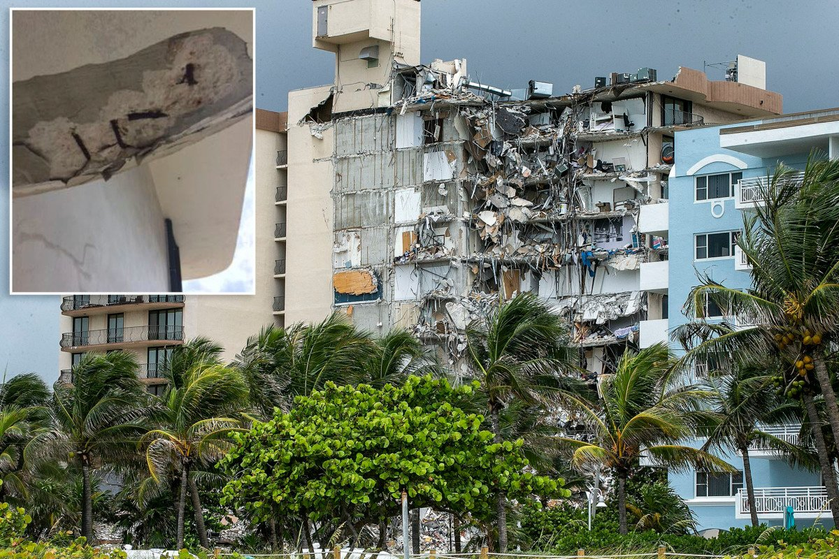 Building inspector was on roof of Florida condo hours before collapse