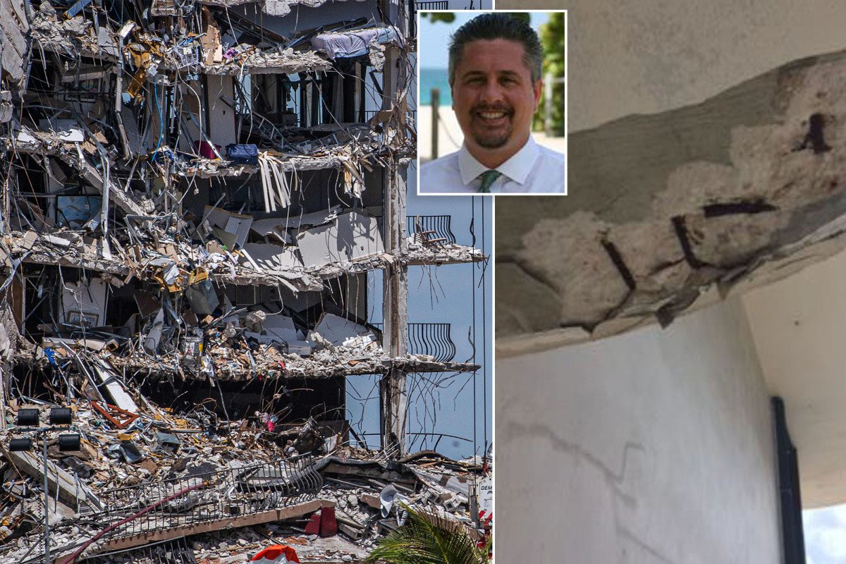 Former building inspector denies getting copy of damning Florida condo study