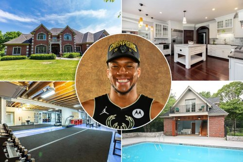 Living up to Kobe's prophecy! Inside Giannis Antetokounmpo's $1.8M mansion