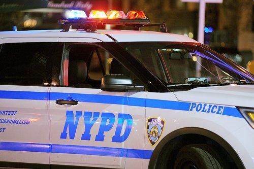 Man in wheelchair shot on NYC street
