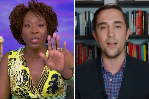 Joy Reid shuts out Critical Race Theory opponent during 'debate'