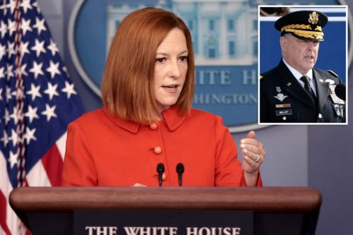 WH defends Milley given 'context,' Joint Chiefs affirm calls to China