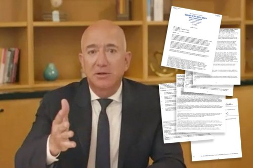 Jeff Bezos 'may have lied' to Congress about Amazon's practices, reps say