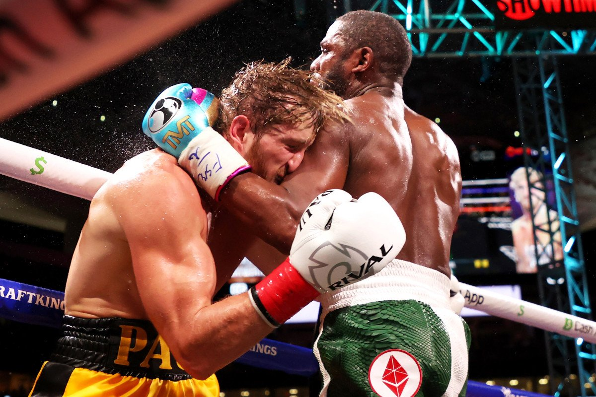 Floyd Mayweather Logan Paul exhibition fight goes the distance - cover