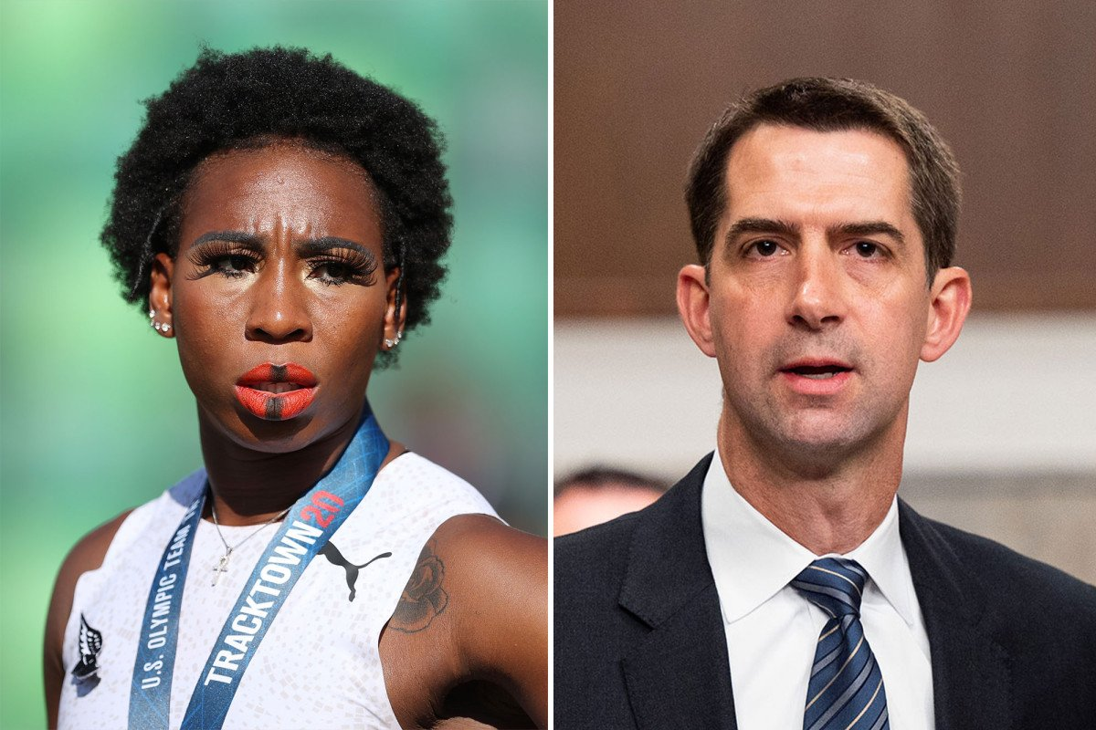 Sen. Tom Cotton wants Gwen Berry off US Olympic team over anthem protest