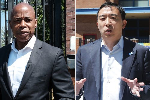Andrew Yang plummets, Eric Adams leads in new Democratic mayoral poll