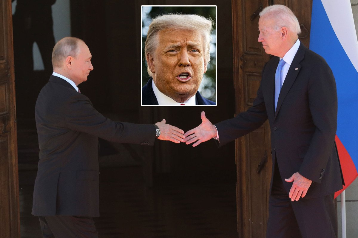 Trump says Biden-Putin summit 'good day for Russia': 'We didn't get anything'