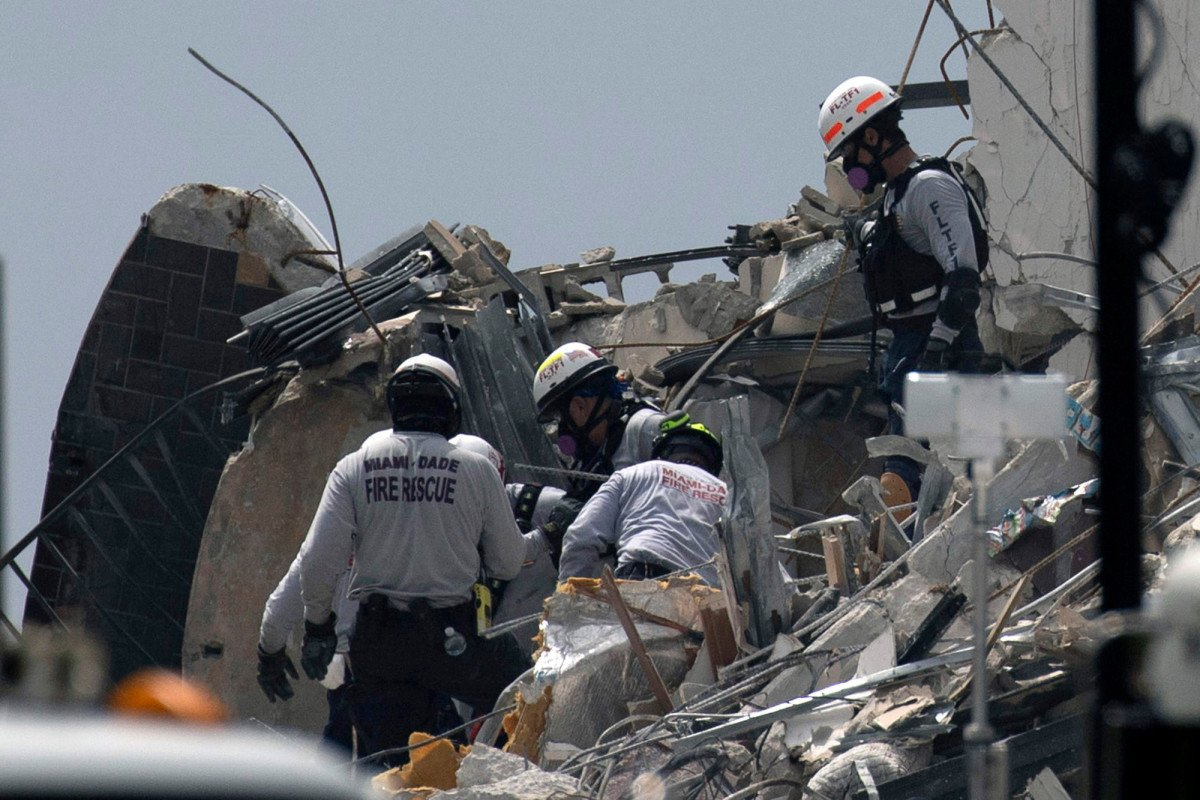 Distraught relative says more people should be searching Florida building collapse