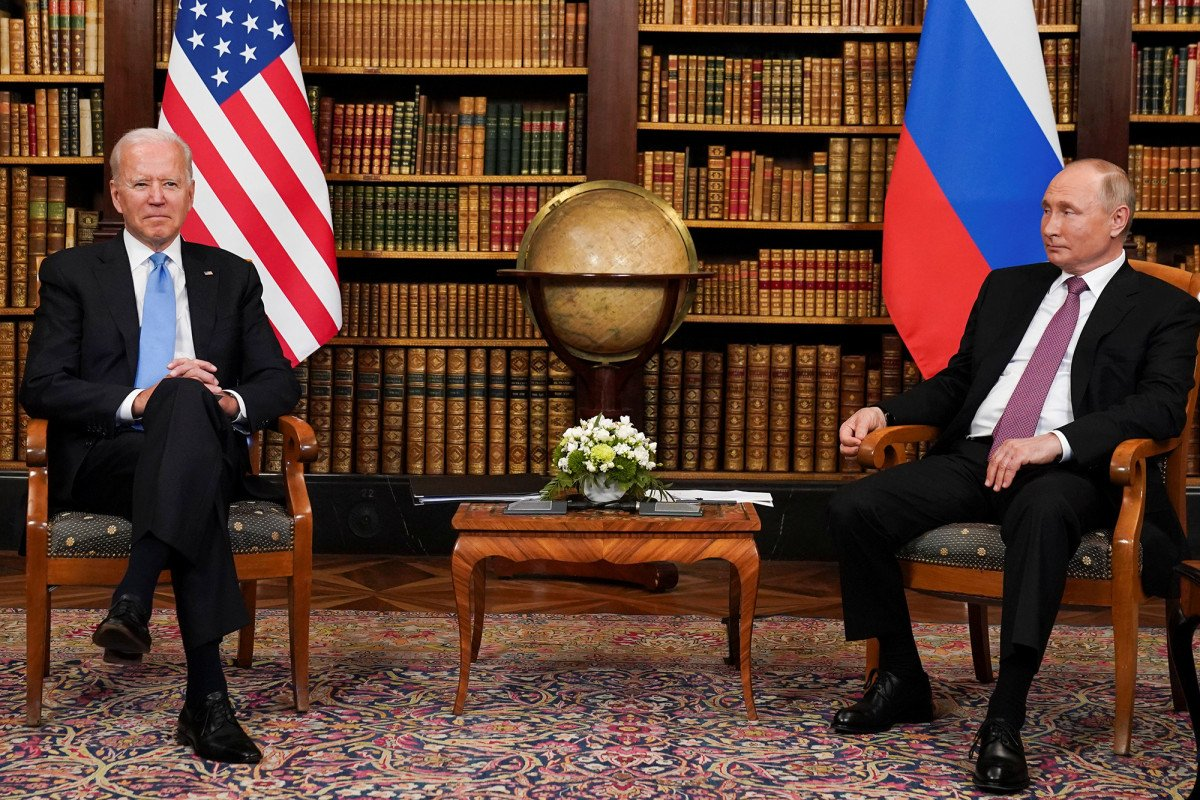 Biden and Putin face off in Geneva amid elevated tensions