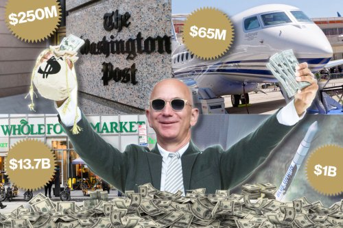 The 7 craziest, over-the-top things Jeff Bezos has spent his money on