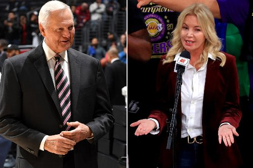 Lakers legend Jerry West not happy after Jeanie Buss' snub