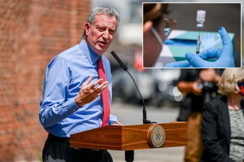 Mayor de Blasio to announce COVID-19 vaccine mandate for all city workers