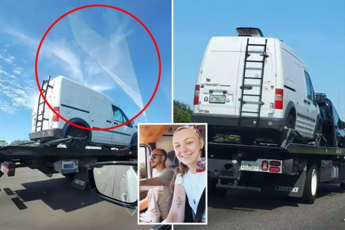 Internet sleuths say they saw 'angel' above Gabby Petito's white van