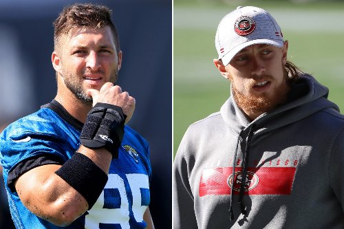 Why Tim Tebow wasn't invited to George Kittle's 'Tight End University'