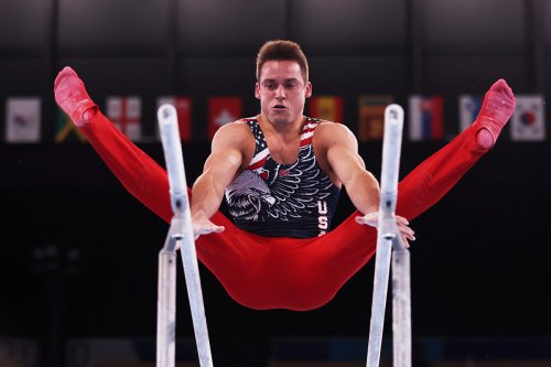 US men's gymnastics team settles for fifth-place finish