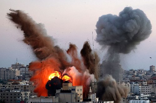 Israel targets home of Hamas military leader, intelligence site in Gaza Strip