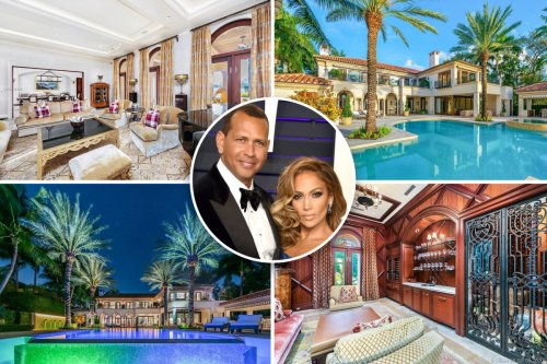 Inside the $32.5M Miami mansion either J.Lo or A-Rod will have to give up