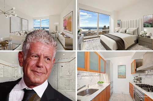 Anthony Bourdain's NYC apartment up for rent with price cut