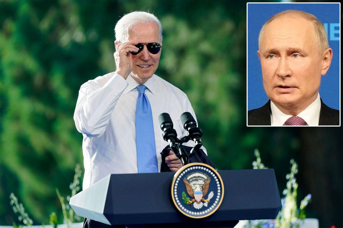 Joe Biden gifts Vladimir Putin a pair of aviator sunglasses