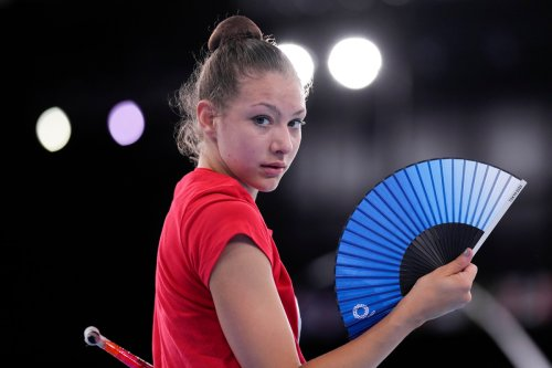 Long dominated by Russia, rhythmic gymnastics rising in US
