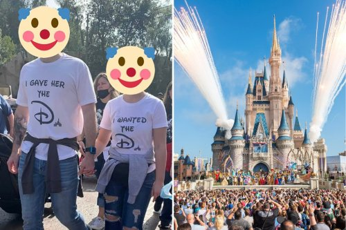 Fans call on Disney to ban raunchy shirts from parks after viral post