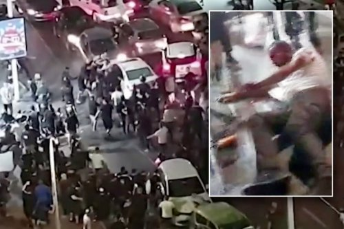 Far-right Israeli mob's vicious attack on Arab man caught on live TV