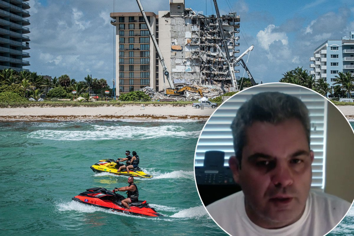 Ex-maintenance manager had concerns before Florida condo collapse