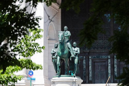 Theodore Roosevelt statue at Museum of Natural History to be relocated