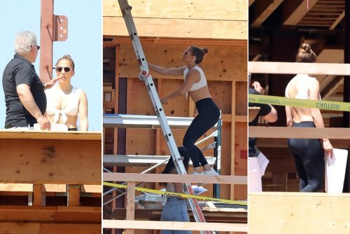 J.Lo gets her hands dirty to find her dream home