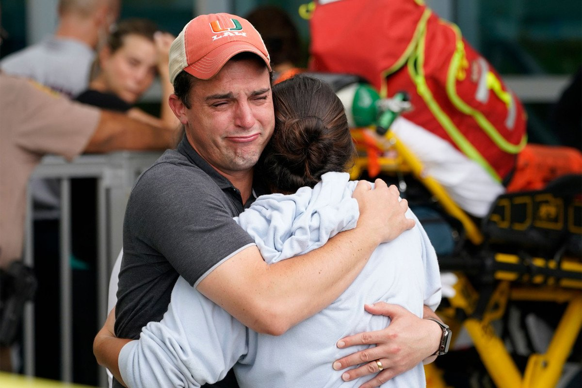 'We're gonna die': Condo residents recount deadly collapse as search for 99 people continues
