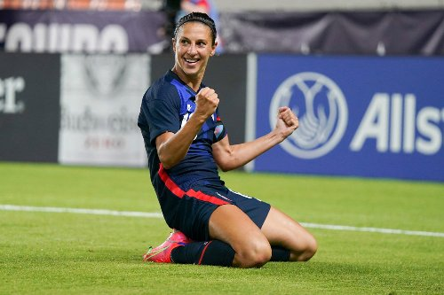 Carli Lloyd feels 'rejuvenated' as she fights for USWNT Olympic spot