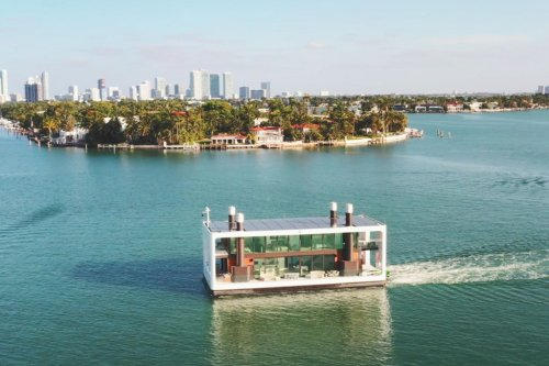 This $5.5M floating mansion in Miami is not your average houseboat