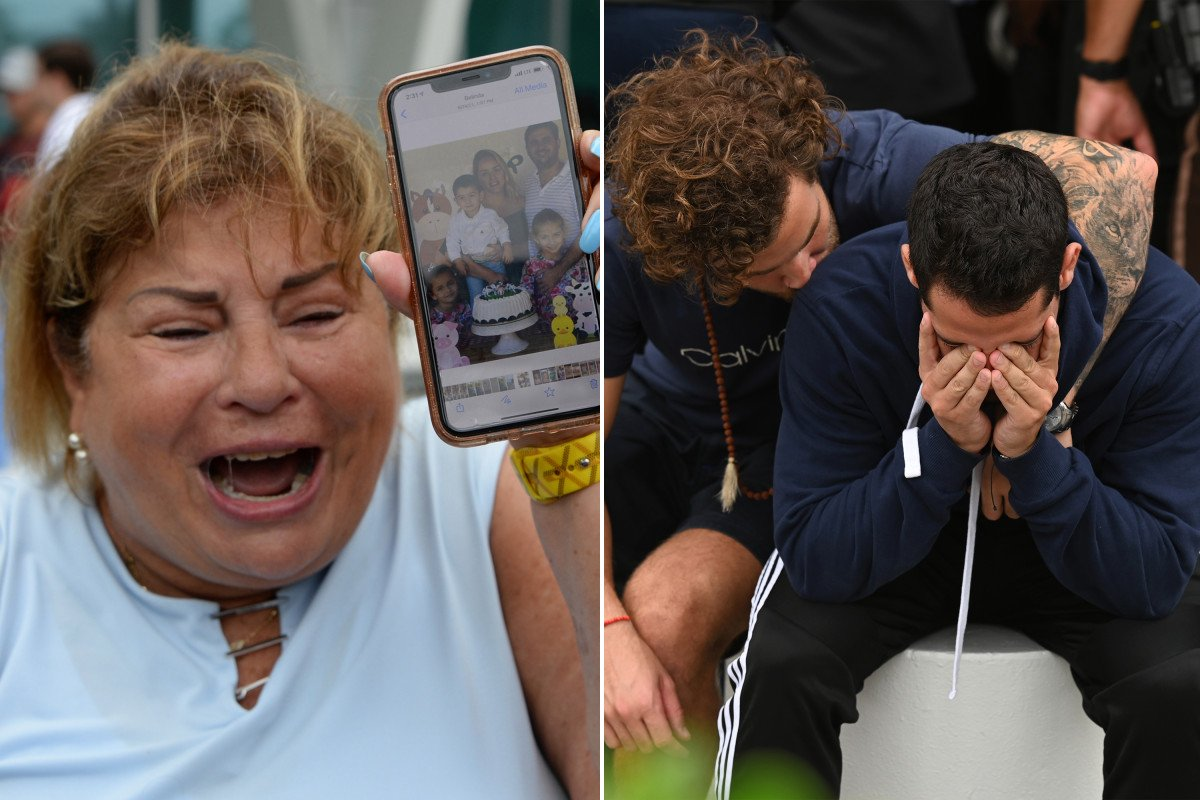 Relatives of missing in Fla. condo building collapse wait in worry