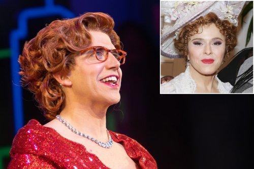 'Tootsie' star Santino Fontana's style muse was Bernadette Peters