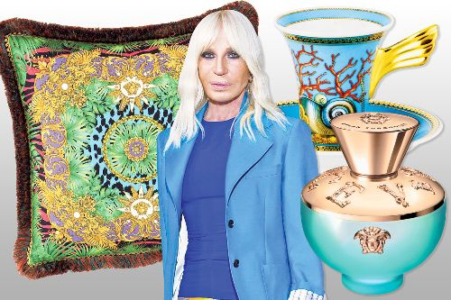 Donatella Versace shares her splurges for spring