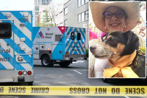 Woman who leapt to her death from NYC high-rise with her dog ID'd