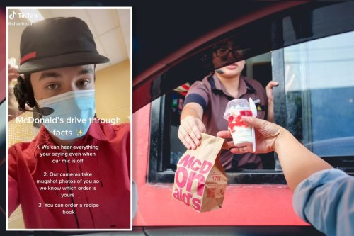 McDonald's employee reveals 3 shocking secrets about drive-thru window