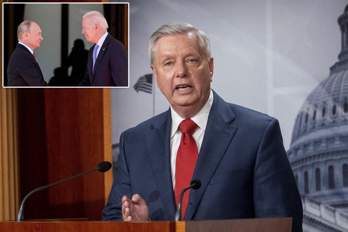 Sen. Lindsey Graham pans Biden performance at 'disaster' Putin summit