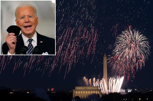Biden warns if Americans don't get COVID jabs they might have to cancel July 4