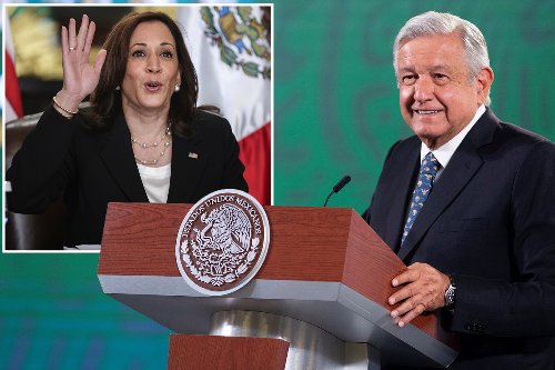 Mexican president praises VP Kamala Harris, 'called her president' in meeting