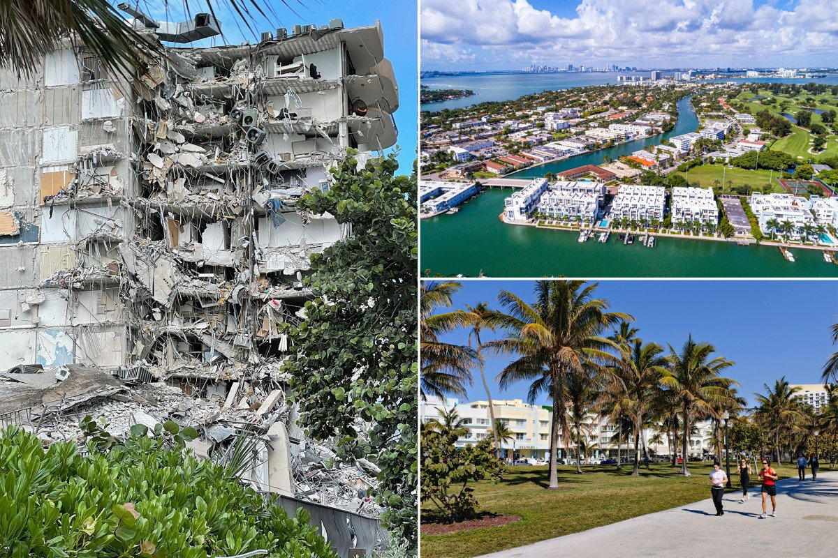 Researchers who found Florida condo was sinking reported similar issues nearby