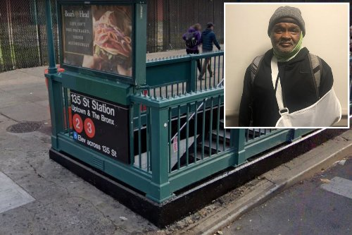 Man who survived subway attack tells mayor: 'Get these nuts off the street'