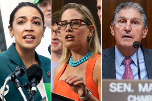 Manchin, Sinema and even the Squad might just stop the $3.5T monstrosity