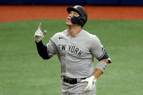 Aaron Judge returns to Yankees lineup after 'cautious' absence