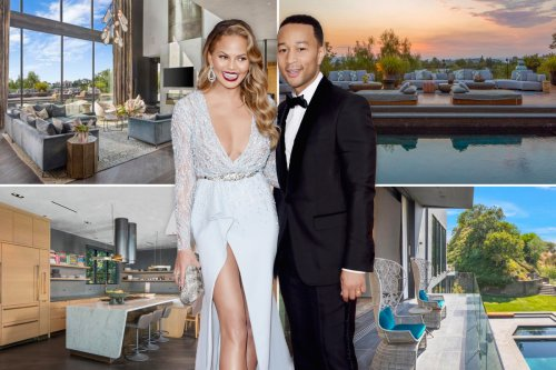 Chrissy Teigen & John Legend slash $6M on their Beverly Hills pad