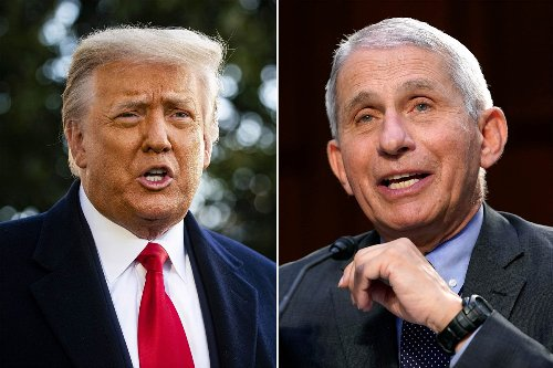 Trump tears into Fauci after release of early COVID emails