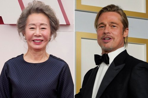 'Minari' granny Yuh-Jung Youn fangirls over Brad Pitt while making Oscars history