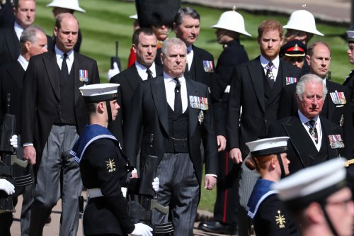 Queen nixed Andy's hope to play admiral at Prince Philip's funeral