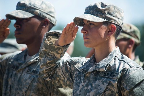 Army's first female infantry officer blasts lower standards for women